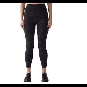 Lululemon Free to Flow 7/8 Tight Fleck black pants